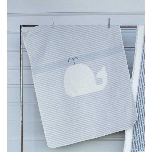 Бебешко одеяло Juwel - Кит